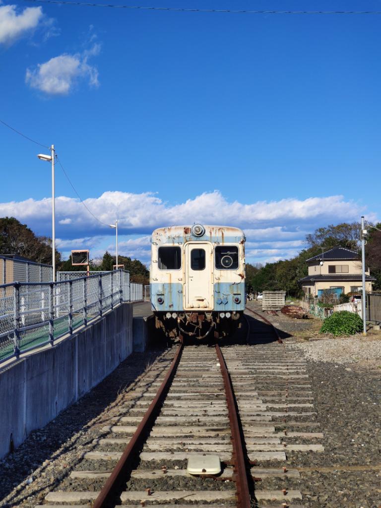ほしいも神社の近くの阿字ヶ浦駅